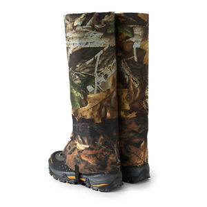 Waterproof Outdoor Camouflage Shoes Cover Hunting Camping Gaiters Long Overshoes