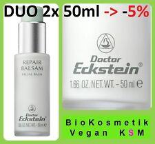 Duo 2x Repair Balsam 50ml, Dr.Eckstein BioKosmetik Besonders gehaltvolles Balsam