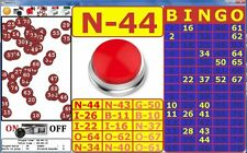 BINGO 75 game program calling for Windows PC (32/64) bits