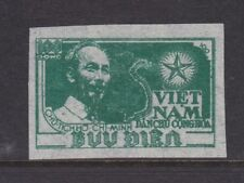 NORTH VIETNAM 1951 MINT SC #2 HO CHI MINH IMPERFORATE CAT $25