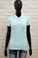 Polo GAUDI Donna Taglia S Maglia Maglietta Camicia Shirt Woman Slim Manica Corta