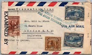GP GOLDPATH: EL SALVADOR COVER AIR MAIL _CV712_P14
