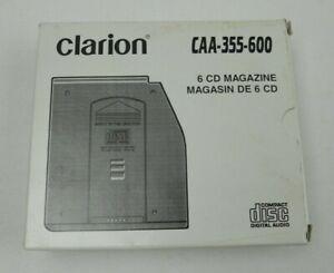 NEW Vintage Clarion 6 CD Disc Magazine CAA-355