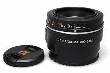 SONY DT 30mm f2. 8 macro SAM SAL - 30M 28