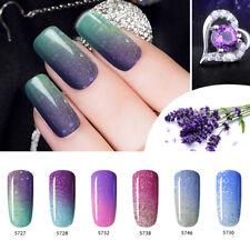 Farbwechsel UV Gel Color Change Nagellack Soak-Off Gel Nail Polish 6 Farben Set