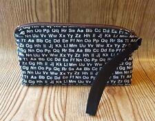 ABCs Alphabet Wristlet Back to School Pencil Pouch Purse Bag