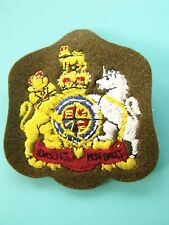 ORIGINAL BRITISH ROYAL NAVY PATCH WARRANT OFFICER CLASS 1 PATCH MINT CONDITION