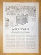 "Steyr Puch Haflinger ""Road Test"" Magazine Article"