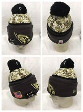 Arizona Cardinals New Era OFFICIAL On Field Salute Service Sideline Knit Hat