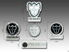 Premium Products BMX, Freestyle Racing, Bike, 5 Decal Sticker Set