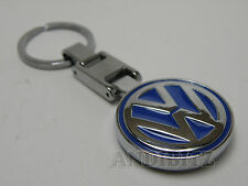 Idea Regalo Cromo Llavero Llavero Vw Golf Polo Jetta Passat Lupo Fox coche Sharan