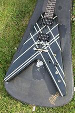 1984 Gibson USA Vintage Flying V Designer Series 30T Electric Guitar - Black