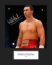 WLADIMIR KLITSCHKO - Signed 10x8 Mounted Photo Print - FREE DELIVERY