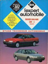 Revue Technique Automobile - Rover 200 / 400 - Essence - Après 1989 - N° 302