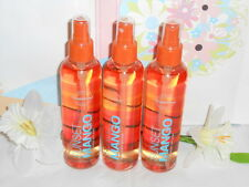 Bath & Body Works Sunset Mango Iced Body Splash X 3 Rare