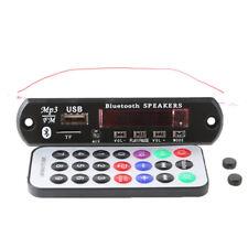 Wireless Bluetooth 12V MP3 WMA Decoder Board Audio Module USB TF Radio Set