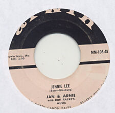 JAN & ARNIE – Jennie Lee/Gotta Getta Date ARWIN 1958 45