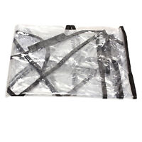 2016 Transparent Single Stroller Weather Shield Rain Cover Canopy Universal Size