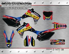Honda CRf 250 R 2014 up to 2016 graphics decals kit Moto StyleMX