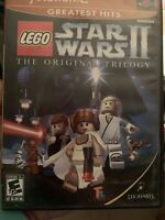 LEGO Star Wars II  the Original Trilogy Playstation 2 Video Game PS2.