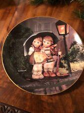 "Vintage M.J. Hummel Plate. ""Stormy Weather, Little Companions"""