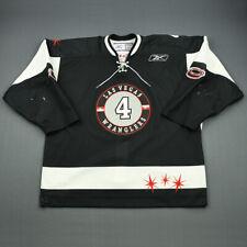 2009-10 Craig Switzer Las Vegas Wranglers Game Used Worn ECHL Hockey Jersey!