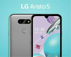 Brand New (Sealed and SIM Included) LG Aristo 5 - 32 GB - Metro Locked - Silver