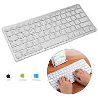 USA Bluetooth Wireless Keyboard Cordless For iMac Tablet Mac OS Andorid PC ARMG