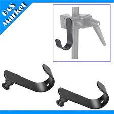 2PCS Background Holder Hook for Super Clamp / Cross Bar / Light Stand