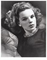Vintage Judy Garland 8x10 B/W Photo Beautiful Closeup of Face