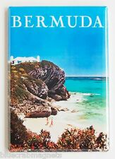 Bermuda Travel FRIDGE MAGNET (2.5 x 3.5 inches) poster vacation holiday beach