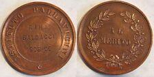 medaglia al merito istituto Pallavicini Roma 1908