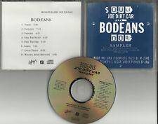 BODEANS Joe Dirt Car ULTRA RARE 8 SONG SAMPLER PROMO DJ CD 1995