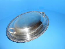 WM Rogers 812 Silver Plated Serving Bowl w/Cover