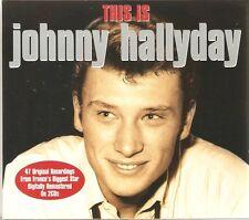THIS IS JOHNNY HALLYDAY - 2 CD BOX SET