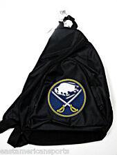 Buffalo Sabres NHL Black Book Bag Camera Back Pack School Slingshot Hockey Case