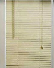 "ALABASTER 1"" VINYL MINI BLINDS - 36"" WIDE x 72"" LONG"