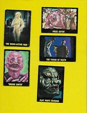 1964 OUTER LIMITS  Lot OF 5 … 2, 21, 24, 40, 46