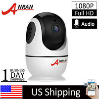 1080P WiFi Security Camera Wireless Indoor CCTV Two-way Talk Motion Detection HD
