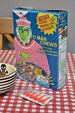 Nightmare on Elm street part 2 Fu man Chews Cereal Box Replica - FReddy Krueger