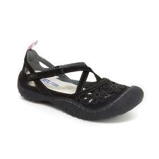 JBU by Jambu Blossom Vegan Women's Wildflower Black Mary Jane Sport shoe 7.5 US