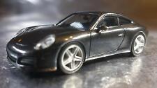 * Herpa  038645  Porsche 911 Carrera 4, Achatgrey Metallic 1:87 Scale HO