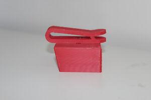 2x Red belt battery holder for Milwaukee M18 18v