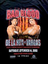ORIGINAL  Oscar de la Hoya vs Fernando Vargas T-Shirt  XLarge.   Last One!