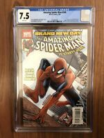 CGC 7.5 Amazing SpiderMan 546 First App Freak Bill Hollister Mr Negative Jackpot