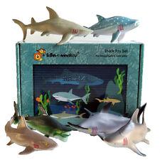 Shark creatura marina giocattolo animale Figure 6 Boxed-acquista direttamente dall'importatore del Regno Unito
