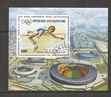 Central African Republic. SC # C334 Seoul Summer Olympics . Souvenir S. MNH