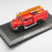 Alloy Diecast Model Fire Truck Car Toy Altas 1/72 Magirus-Deutz Mercur Vehicles