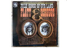 FLATT AND SCRUGGS * FOLK SONGS OF OUR LAND * SAMPLE LP CBS BPG 62095 PLAYS GREAT