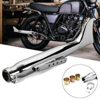 Silencieux Pot d'échappement Tuyau pour Harley Davidson Bobbers Cafe Racer
